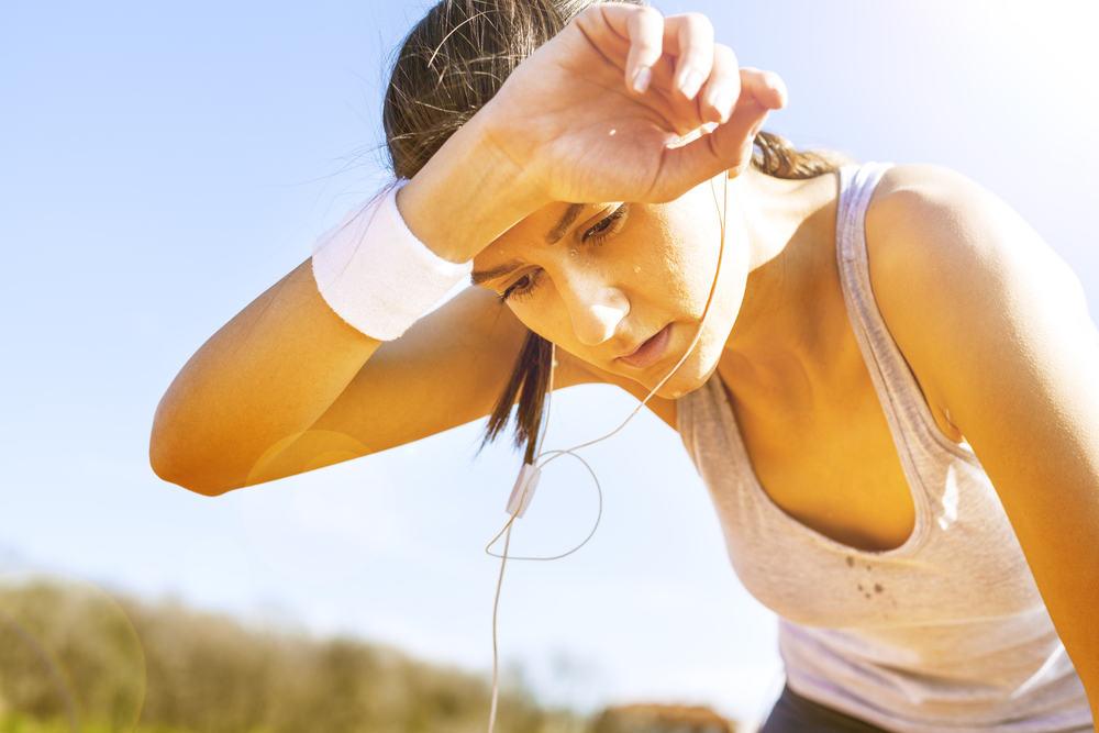 anemijo po vadbi za PPOK